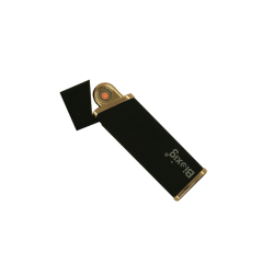Mechero eléctrico Bioxig® Black & Gold